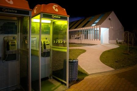 Cygnet public toilet
