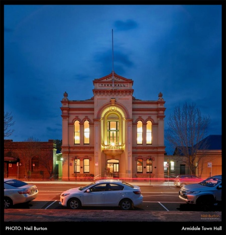 Photo: Neil Burton – Armidale Town Hall