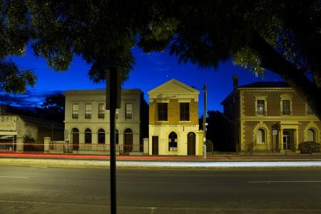 Castlemaine: Barker Street facades