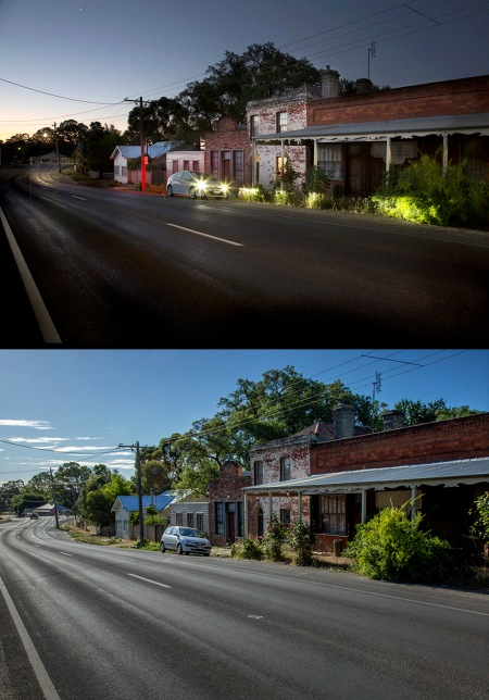 Opposite the Red Hill Hotel Day/Night Duo